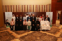 In cooperation with UNFPA NAMA Holds an Expert Meeting to Prepare a Peer Education Manual in Qatar